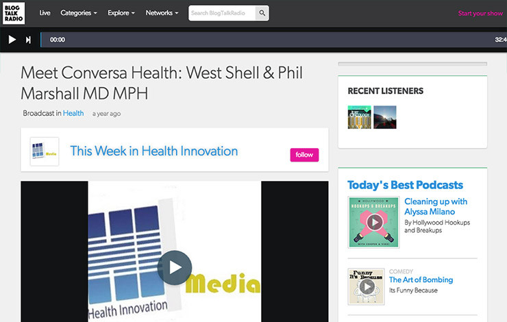 Meet Conversa Health: West Shell & Phil Marshall MD MPH