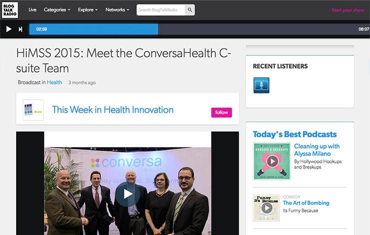HiMSS 2015: Meet the ConversaHealth C-suite Team