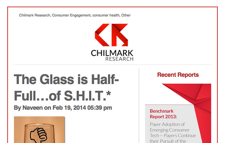 The Glass is Half-Full…of S.H.I.T.*
