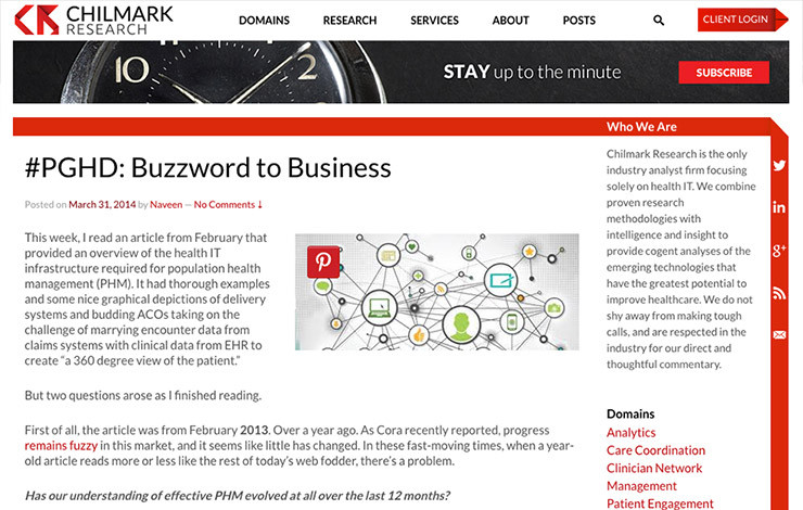 #PGHD: Buzzword to Business