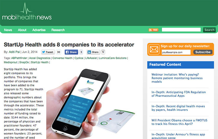 StartUp Health adds 8 companies to its accelerator