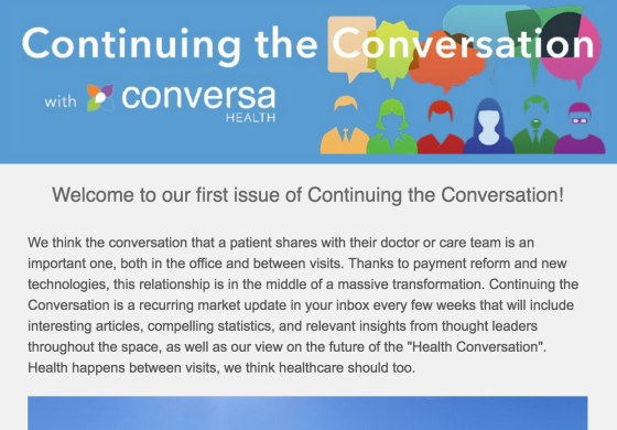 Continuing the Conversation - Issue #1