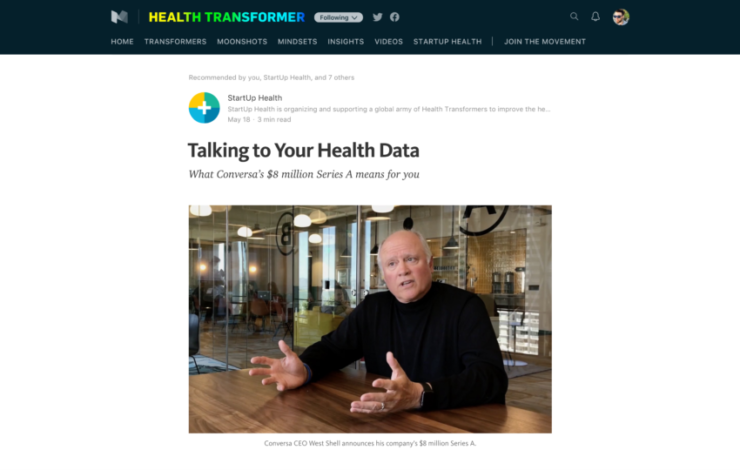 Talking to Your Health Data