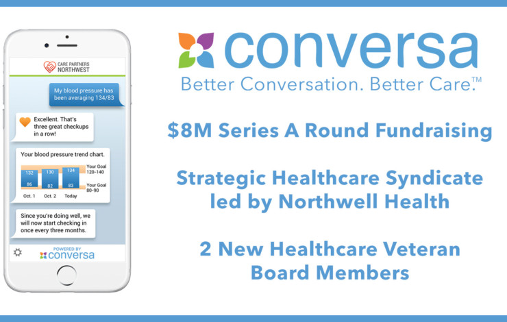 Northwell Health Leads $8M Series A Funding Round for Conversa