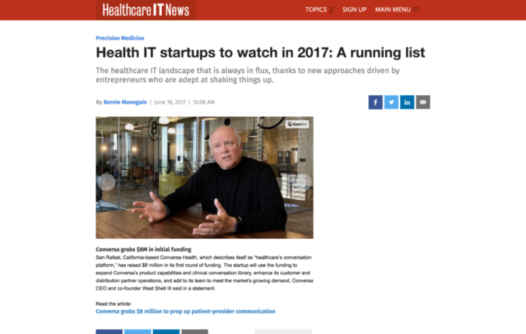 Health IT startups to watch in 2017