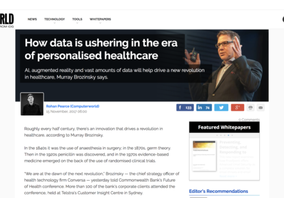 How Data is Ushering In the Era of Personalised Healthcare
