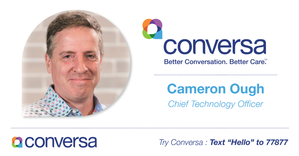 Patient Care Platform Conversa Health Hires New Chief Technology Officer