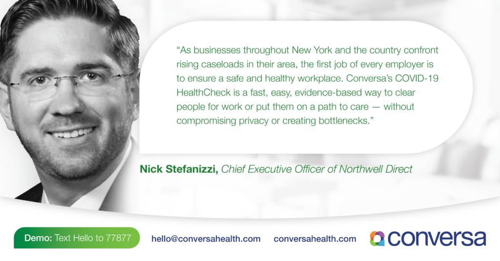 Conversa Health's COVID-19 HealthCheck