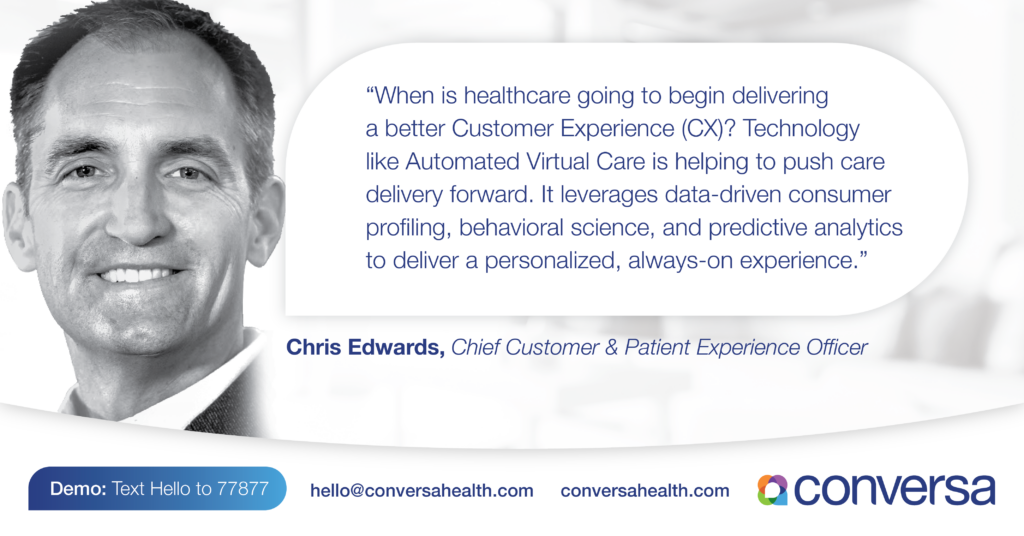 Deliver better Customer Experience (CX) in Healthcare with Automated Virtual Care