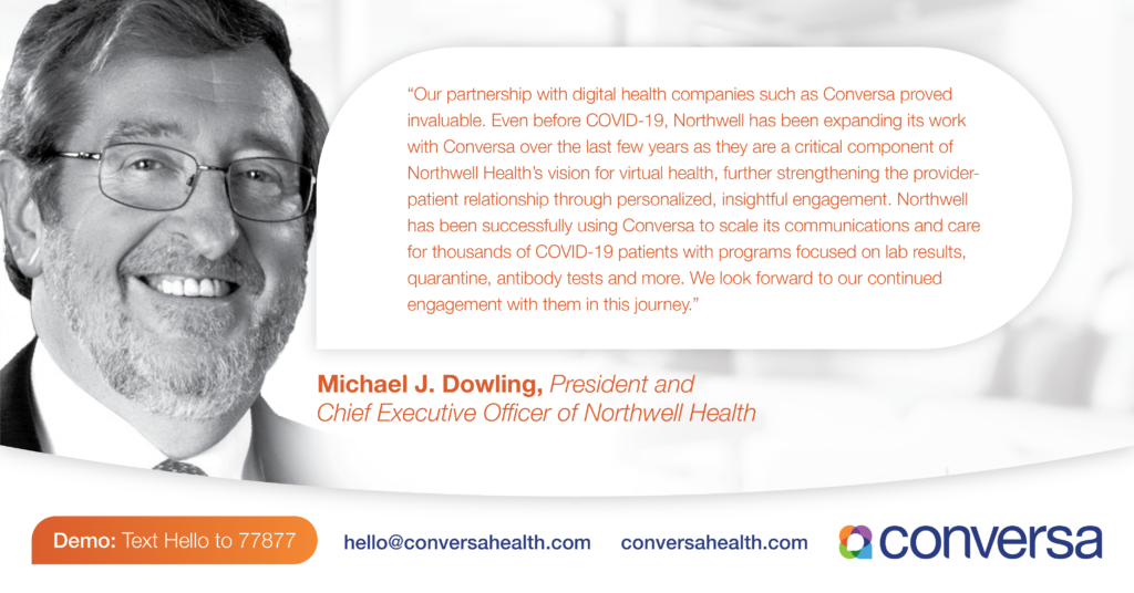 Northwell Health Partnership with Conversa Health